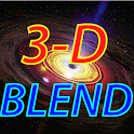 Blend View 3D icon
