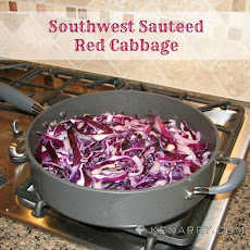 Southwest Sautéed Red Cabbage