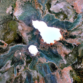 Creation's Masterpiece by Sherry Judd - Nature Up Close Rock & Stone ( desert, nature, aruba, colors, cave )