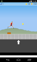 Screenshot of running game