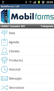 MobilForms - screenshot