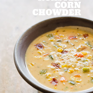Roasted Corn Chowder Soup Recipes