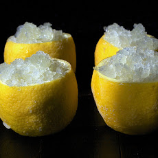 Lemon-Mint Granita