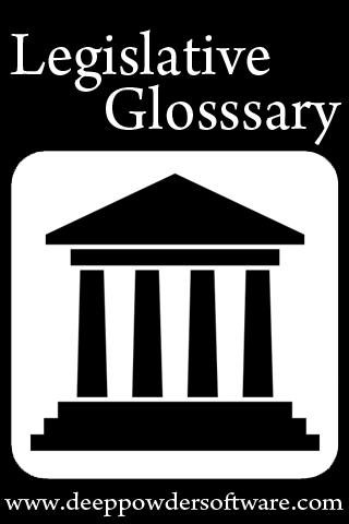 Legislative Glossary