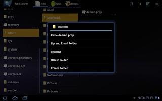 Screenshot of Tab Explorer (Lite)