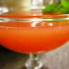 Pink Grapefruit Martini