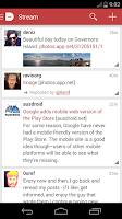 Screenshot of Dash for App.net