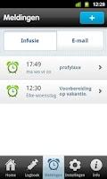 Screenshot of Helo! - Hemofilie logboek