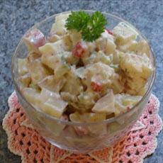 One Person Potato Salad