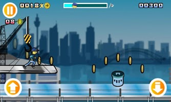 Screenshot of Interpol Runner: Best Free Run