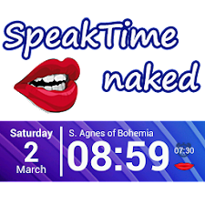 SpeakTime Naked widget