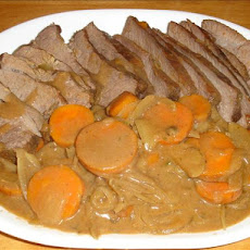 Comfort Pot Roast (For the Crock Pot)