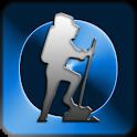 ハイキングのGPS icon