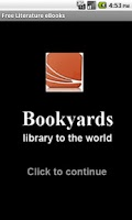 Screenshot of Literature eBooks