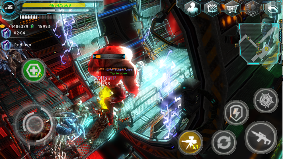Alien Zone Plus Screenshot 2
