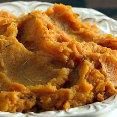 Maple-Orange Mashed Sweet Potatoes