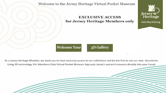 Jersey Heritage Pocket Museum - screenshot