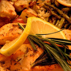 Rosemary Roasted Salmon