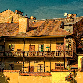 Old house in centre of Zagreb by Hrvoje Kunović - Buildings & Architecture Homes ( old, centre, zagreb, house )