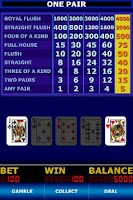 Screenshot of Double Down Stud Poker FREE