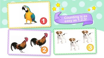 Screenshot of Toddler Counting 123 Kids Free