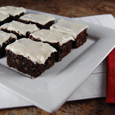 Tuxedo Bars – Double Chocolate Cake Bars with Buttercream Frosting