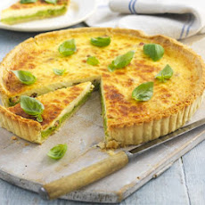 Pea, Bean & Bacon Tart