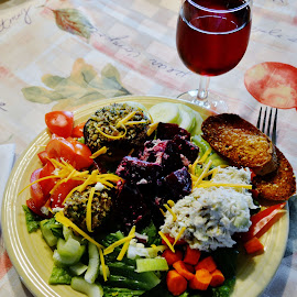 A Salad to Remember by Rhonda Rossi - Food & Drink Plated Food (  )