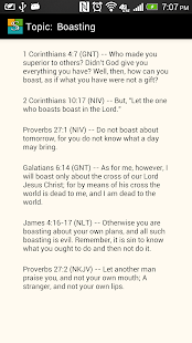 ScriptureHelps - screenshot