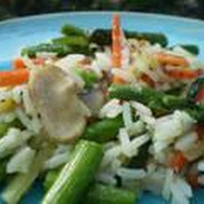 Vegetable Rice Simple Side Dish