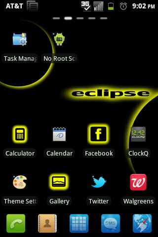 Eclipse Go Launcher Theme FREE
