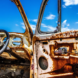 still a beauty by Aretha De Jager Botha - Transportation Automobiles ( car, old, vintage, automobile, rusty,  )