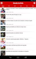 Screenshot of Mundo da Bola