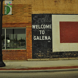 Galena by Brian Hughes - Buildings & Architecture Other Exteriors ( galena, mo, scotts, bricks, rural )