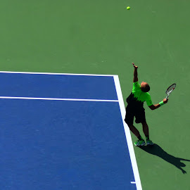 U.S. Open MIxed Doubles by Lorraine D.  Heaney - Sports & Fitness Tennis