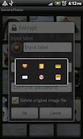 Screenshot of SecurePhoto, free photo locker