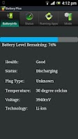 Screenshot of Battery Plus
