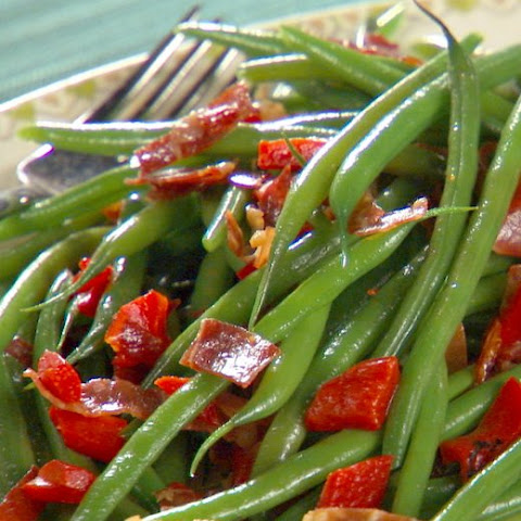 Steamed Yet Crispy String Beans