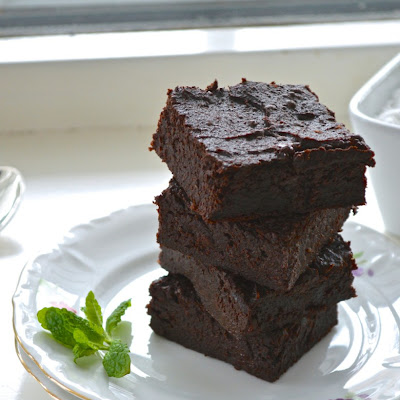 Guilt-Free Vegan Sweet Potato Brownies