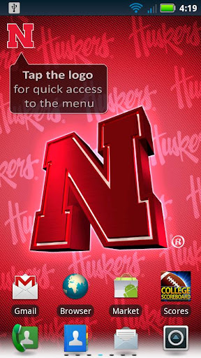 Nebraska Revolving Wallpaper
