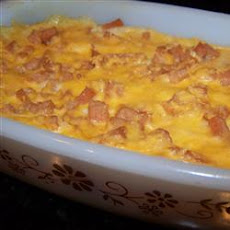 Mrs. Payson's SPAM® and Grits Brunch Casserole