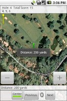 Screenshot of SimpleGolfGps