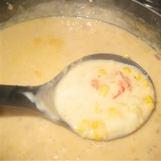 Crawfish and Corn Soup