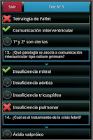 Screenshot of Pediatría en preguntas y tests
