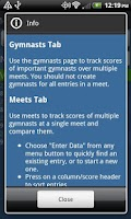 Screenshot of Gym Pal