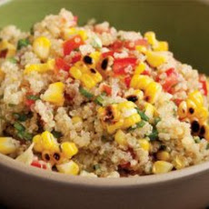 Grilled Corn and Quinoa Salad Recipe