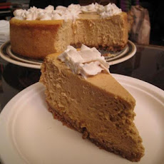 Martin Sheen's Favorite Pumpkin Cheesecake