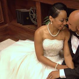 Mr. & Mrs. by Robyn Dunne - Wedding Bride & Groom ( sweet, wedding, weddings, couple, bride and groom )