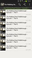 Screenshot of Walking Dead Episode 1 Guide