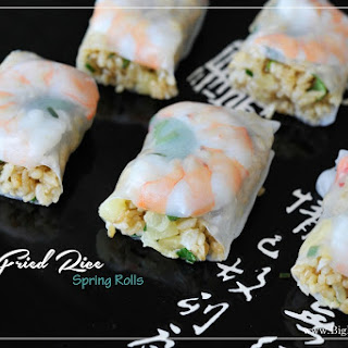 Fried Rice Paper Spring Rolls Recipes